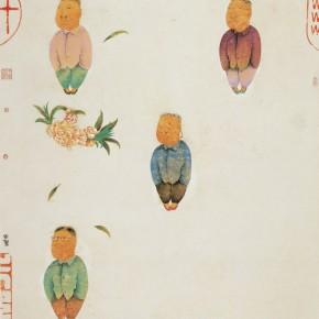 "Zhu Wei ""Spring Figure No.15"" 160 x 120 cm 2008 290x290 - Representative Ink Paintings by Zhu Wei Presented by Today Art Museum"