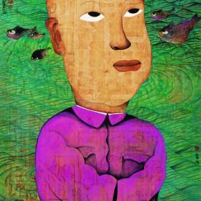 "Zhu Wei ""Sweet Life No.21"" 178 x 170 cm 1998 290x290 - Representative Ink Paintings by Zhu Wei Presented by Today Art Museum"