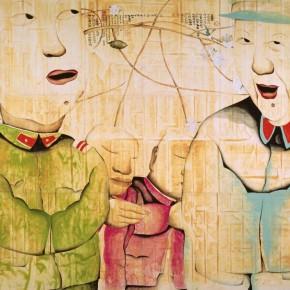 "Zhu Wei ""Sweet Life No.38"" 194 x 258 cm 1999 290x290 - Representative Ink Paintings by Zhu Wei Presented by Today Art Museum"