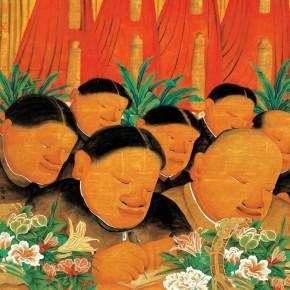 """Zhu Wei """"Utopia No.46"""" 120 x 120 cm 2004 290x290 - Representative Ink Paintings by Zhu Wei Presented by Today Art Museum"""