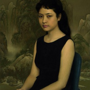"06 Jin Shangyi ""Young Woman Singer""  290x290 - Silent Advocacy: Teaching Research Exhibition of the First Studio of the Department of Oil Painting in the School of Plastic, CAFA"