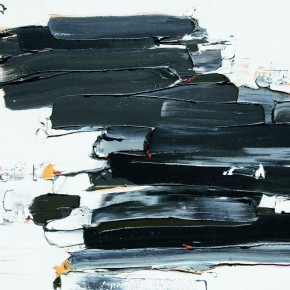 """08 Burigude Zhang, """"Ascension"""", acrylic on canvas, 122 x 152 cm, 2009"""