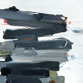 "10 Burigude Zhang, ""Acting Consistently"", acrylic on canvas, 91 x 122 cm, 2009"