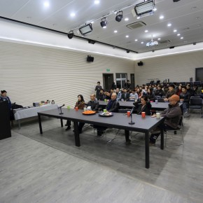 """12 View of the award ceremony of """"Dayun Sculptural Creation Award"""" 290x290 - Annual Exhibition of Students from the Department of Sculpture, CAFA & """"Dayun Sculpture Creation Award"""""""
