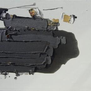 "13 Burigude Zhang, ""Condensing"", acrylic on canvas, 75 x 100 cm, 2012"