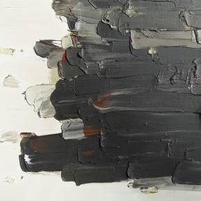 """14 Burigude Zhang, """"Energy"""", acrylic on canvas, 122 x 152 cm, 2008"""