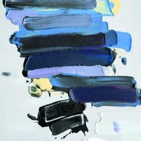 """15 Burigude Zhang, """"Lucidity"""", acrylic on canvas, 122 x 91 cm, 2009"""