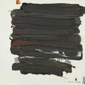 "22 Burigude Zhang, ""The Solid"", acrylic on canvas, 80 x 100 cm, 2011"