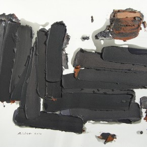 """26 Burigude Zhang, """"Transverse and Vertical Law"""", acrylic on canvas, 100 x 140 cm, 2009"""