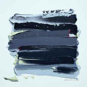 """32 Burigude Zhang, """"Harmony Moment"""", acrylic on canvas, 91 x 91 cm, 2009"""