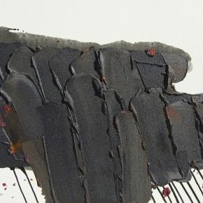 """38 Burigude Zhang, """"Down"""", acrylic on canvas, 75 x 100 cm, 2012"""