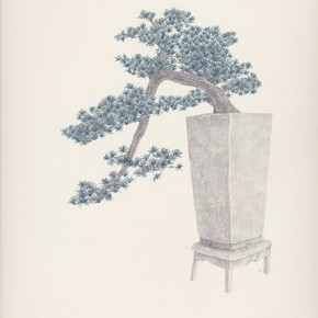 Chang Yuchen Bonsai 3 2013 pencil on paper34.5 x 26.9 cm  290x290 - Chang Yuchen: Snake and Others Exhibiting at Fou Gallery, New York