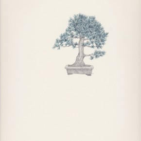 Chang Yuchen Bonsai 5 2013 pencil on paper 34.5 x 26.9 cm 290x290 - Chang Yuchen: Snake and Others Exhibiting at Fou Gallery, New York