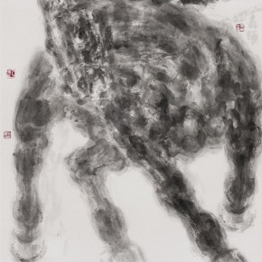 Chao Hai Horse 112x97cm ink and color on rice paper 2013 290x290 - 2013 Chinese Invitational Exhibition of Ink and Wash opens at Today Art Museum