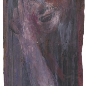 Francis Bacon Laugher and Howl of Francis Bacon paint toner pencil and ink mark 18cm x 36.5cm 290x290 - Francis Bacon's First Exhibition in China Launched at the Art Museum of Nanjing University of the Arts