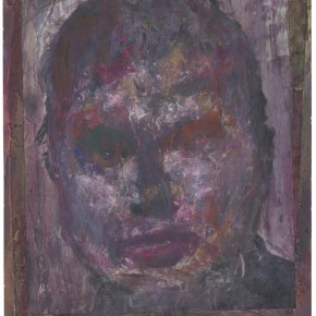 Francis Bacon Self portrait of Francis Bacon paint toner and pencil and ink mark 30cm x 36.5cm 290x290 - Francis Bacon's First Exhibition in China Launched at the Art Museum of Nanjing University of the Arts
