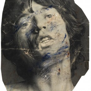 Francis Bacon The Face of Mick Jagger 1980 paint toner and scratch 15.5cm x 26cm 290x290 - Francis Bacon's First Exhibition in China Launched at the Art Museum of Nanjing University of the Arts