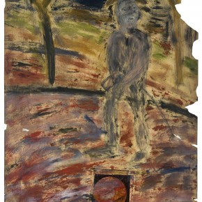 Francis Bacon Von Gogh howls on the road 1955 paint toner and pencil on photographic paper 29.5cm x 35.5cm 290x290 - Francis Bacon's First Exhibition in China Launched at the Art Museum of Nanjing University of the Arts