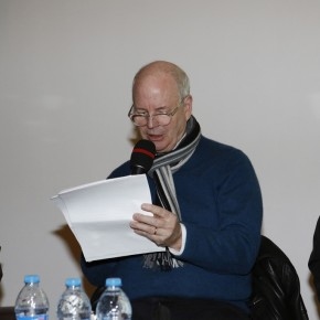 """Prof. Timothy Conway Murray from Cornell University gave a speech 290x290 - International Symposium on """"Background Story"""" by Xu Bing"""