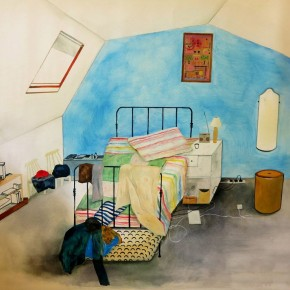 Their Rooms Their Dreams Ting Chun Chen Oil on Canvas 2013 290x290 - Artworks by Twelve Finalists of 2013 Taipei Art Awards on Display at Taipei Fine Arts Museum