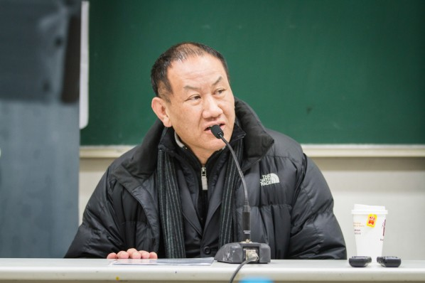"""View of """"Ideal and Reality"""" a lecture given by Xie Dongming 02"""