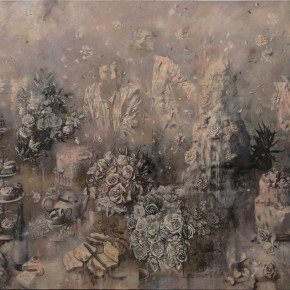 """Wang Jie """"Confused Path I"""" oil and acrylic on canvas 200 x 300 cm 2013 290x290 - The Absence of the Presence – Solo Exhibition by Wang Jie on Display at Today Art Museum"""
