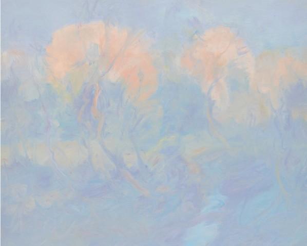Wang Jingwu, Scenery, 2013; oil on canvas, 2013