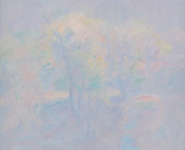 Wang Jingwu, Scenery, 2013;  oil on canvas, 80x100cm