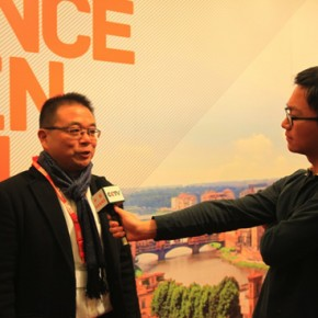 Wu Hongbin Curator on behalf of Chinese artists got interviewd by CCTV 290x290 - The New Florence Biennale 2013 - IX Edition
