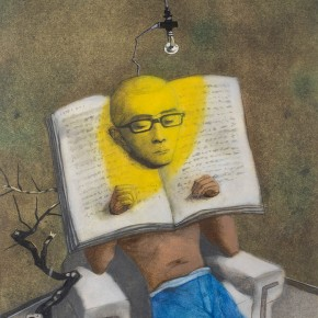 "Zhang Xiaogang The Prisoner of Book No.1 2013 290x290 - The fourth installment of Pace Beijing's annual project ""Beijing Voice"" focuses on ""Relations"""