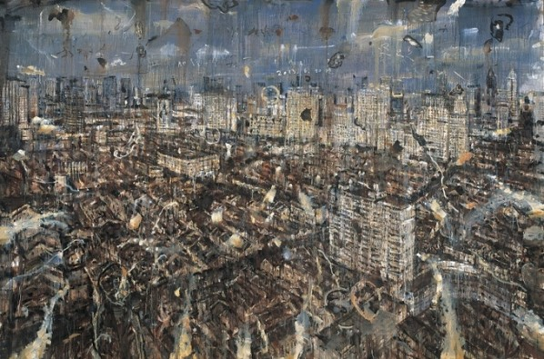 Zhao Zhengrong, Thank you for everything I have, 2013; oil on canvas, 200x300cm