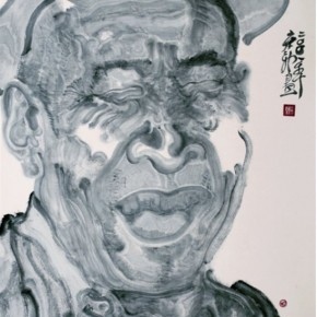 Zhou Jingxin Face I 92x68cm Ink and colour on paper2008 290x290 - 2013 Chinese Invitational Exhibition of Ink and Wash opens at Today Art Museum