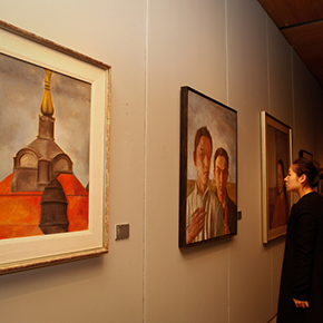 1978 – First Session of the Department of Oil Painting Launched an Exhibition to Commemorate the 30th Anniversary of Graduation