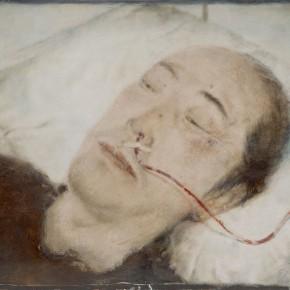 """03 Xia Yu, """"Infusion"""", tempera on wood board, 40 x 50 cm, 2011"""