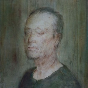 """06 Xia Yu """"Portrait of an Old Man"""" tempera on wood board 70 x 55 cm 2012  290x290 - """"Xia Yu: Old Painting Exhibition"""" Unveiled at the Teaching Exhibition Hall of Chinese Academy of Oil Painting"""