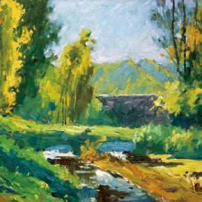 06 Yi Ying The Real Difficulties and Possibilities in Landscape Oil Paintings(Part I)
