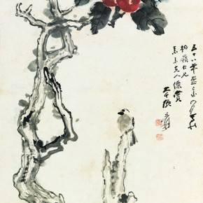 06 Zhang Daqian Triple Fortune till Hoary headed 1969 ink and color on paper 133.5x70cm 290x290 - Vast Territory of the Motherland: Zhang Daqian Art Exhibition Opening January 20 at the National Art Museum of China