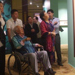 07 Honor guests visited the exhibition  290x290 - ART • SANYA Art Festival Special Exhibition Paying a Tribute to Traditional Chinese Painting Art Opened in Sanya