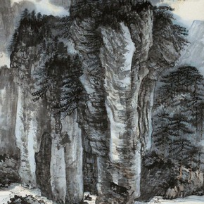 07 Zhang Daqian Painting of My First Visit to the Red Cliff 1948 ink and color on paper 134.5×53.5cm 290x290 - Vast Territory of the Motherland: Zhang Daqian Art Exhibition Opening January 20 at the National Art Museum of China