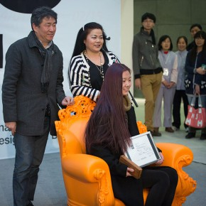 "08 View of the opening ceremony of the 6th ""Design for Sitting Exhibition"" 290x290 - Winners of the 6th ""Design for Sitting Exhibition"" Competition Announced"
