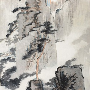10 Zhang Daqian Nunnery of Pine Vallery and Deep Pool of Five Dragons ink and color on paper 135×65cm 290x290 - Vast Territory of the Motherland: Zhang Daqian Art Exhibition Opening January 20 at the National Art Museum of China