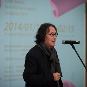 "11 Xu Bing Vice President of CAFA spoke at the opening ceremony of the ""Choosing Six Cases from CAFA"" exhibition 290x290 - Focus on the Young Teachers of CAFA – ""Choosing: Six Cases from CAFA"" Exhibition is Unveiled"