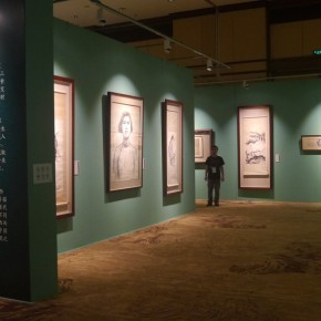 15 View of the exhibition 290x290 - ART • SANYA Art Festival Special Exhibition Paying a Tribute to Traditional Chinese Painting Art Opened in Sanya