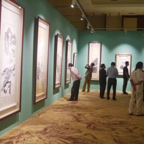 17 View of the exhibition 290x290 - ART • SANYA Art Festival Special Exhibition Paying a Tribute to Traditional Chinese Painting Art Opened in Sanya