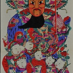 23 A New Year picture of the exhibition 290x290 - Adornment of Life - Exhibition of Selected Folk New Year Pictures of Folk Art in the Collection of the Library of CAFA