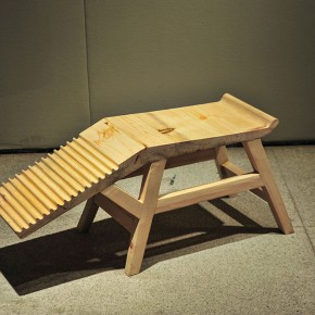 "27 Winner of Outstanding Prize ""Washboard Stool"" by Chen Jie 290x290 - Winners of the 6th ""Design for Sitting Exhibition"" Competition Announced"