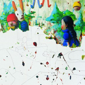 """Chen Ke """"Alice"""", 2008 290x290 - Criss-Cross: Artworks of Young Chinese Contemporary Artists from the Long Collection"""