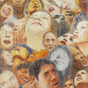 Fang Lijuns Work 2012 2013 Oil on canvas 160x130cm 290x290 - Exhibition Featuring Latest Works by Fang Lijun on Display at Hanart TZ Gallery, Hong Kong