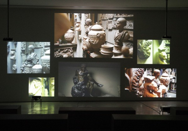 Inventory by Fiona Tan, 2012; High-definition video installation Courtesy of the artist and Frith Street Gallery, London