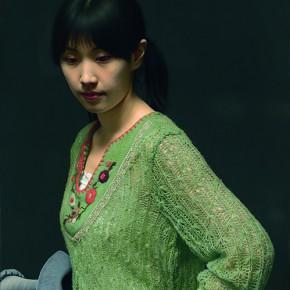 "Leng Jun ""Portrait of the Portrait – Xiaojiang"" oil on canvas 120 x 60 cm 2011 290x290 - ""Re-Portrait: 1 Sanguandian 2013 Art Exhibition"" Held in the Hubei Museum of Art"